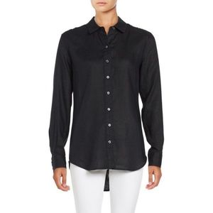 Lord & Taylor linen button down shirt
